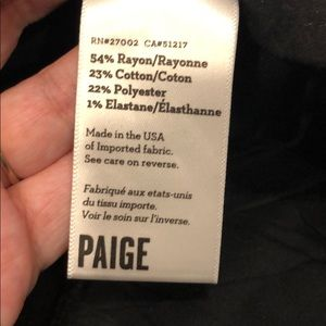 PAIGE Jeans - Paige Gold over black sample Monica jeans 28